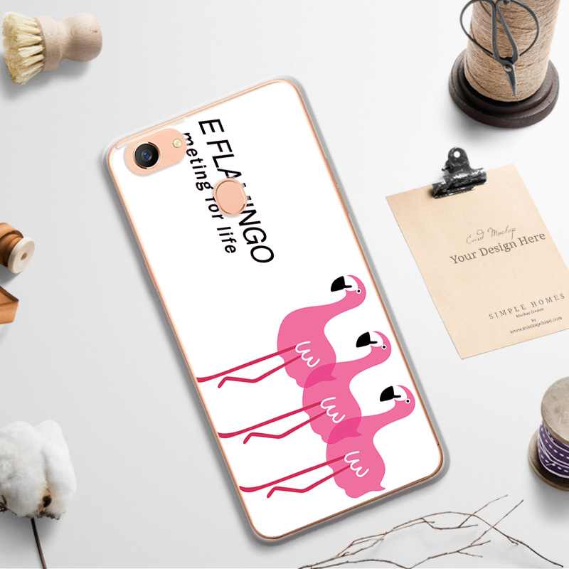 Case For OPPO F5 Bunny Phone Cases Cover For OPPO F5 Fashion Cute Back Cover For OPPO F5 Capa Funda