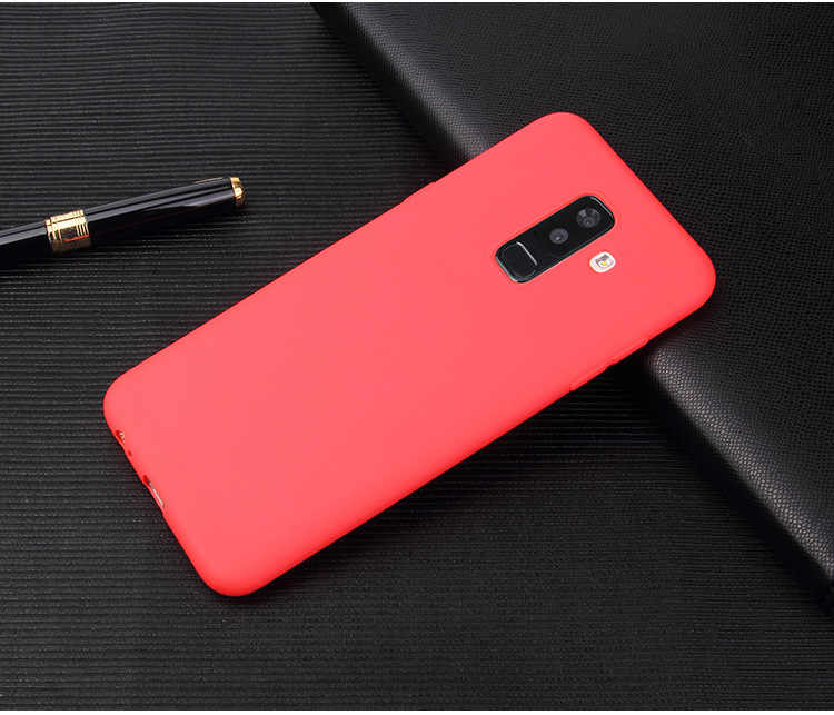 Candy Kleur Silicon Soft Cover Voor Samsung Galaxy A6 A6S A6 + Plus A7 A9 2018 A8 A8S A8 + Plus 2018 S7 S8 S9 S10 S10E S10Plus Case