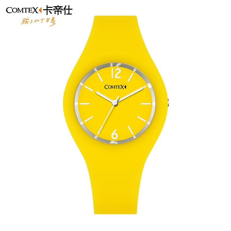 ФОТО Comtex 2016 Women Watch Sport Unisex Watch Couple Silicone Rubber Strap Quartz Movement Analog DIsplay Watch