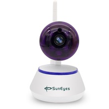 SunEyes SP-S901W 960P HD 1.3MP Wireless IP Camera P2P with Wifi Smart One Key Setup and Motion Detection Alarm  Support TF Card