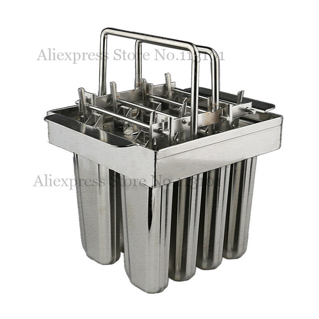 ice cream tool ice pop mould 8pcs tray popsicle molds. Black Bedroom Furniture Sets. Home Design Ideas