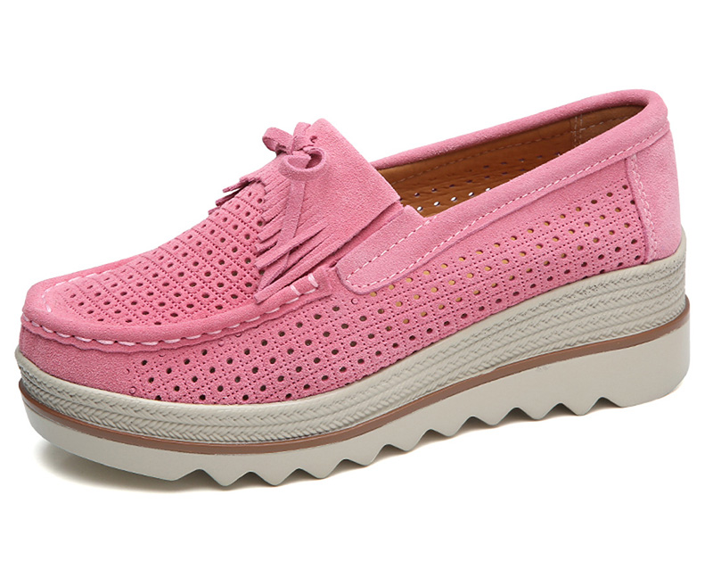 HX 3088 Platform Flats Shoes Women-11