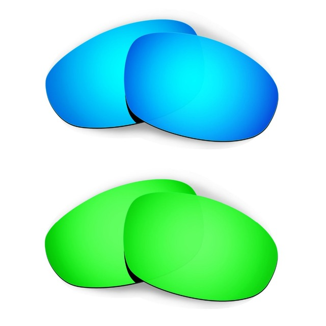 8b4f95e15d HKUCO For Juliet Sunglasses Replacement Lenses Blue Green 2 Pairs ...
