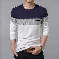 T Shirt Men 2017 Spring Summer New Long Sleeve O Neck T Shirt Men Brand Clothing
