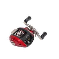 Haibo Newest Bait Casting Fishing Reel 6.5:1 8B+RB BB Max Drag 5kg Aluminum Alloy Body Magnetic Force Shallow Spool Casting Reel
