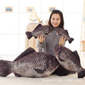 Crucian carp sleeping pillow plush toy simulation fish doll birthday gift