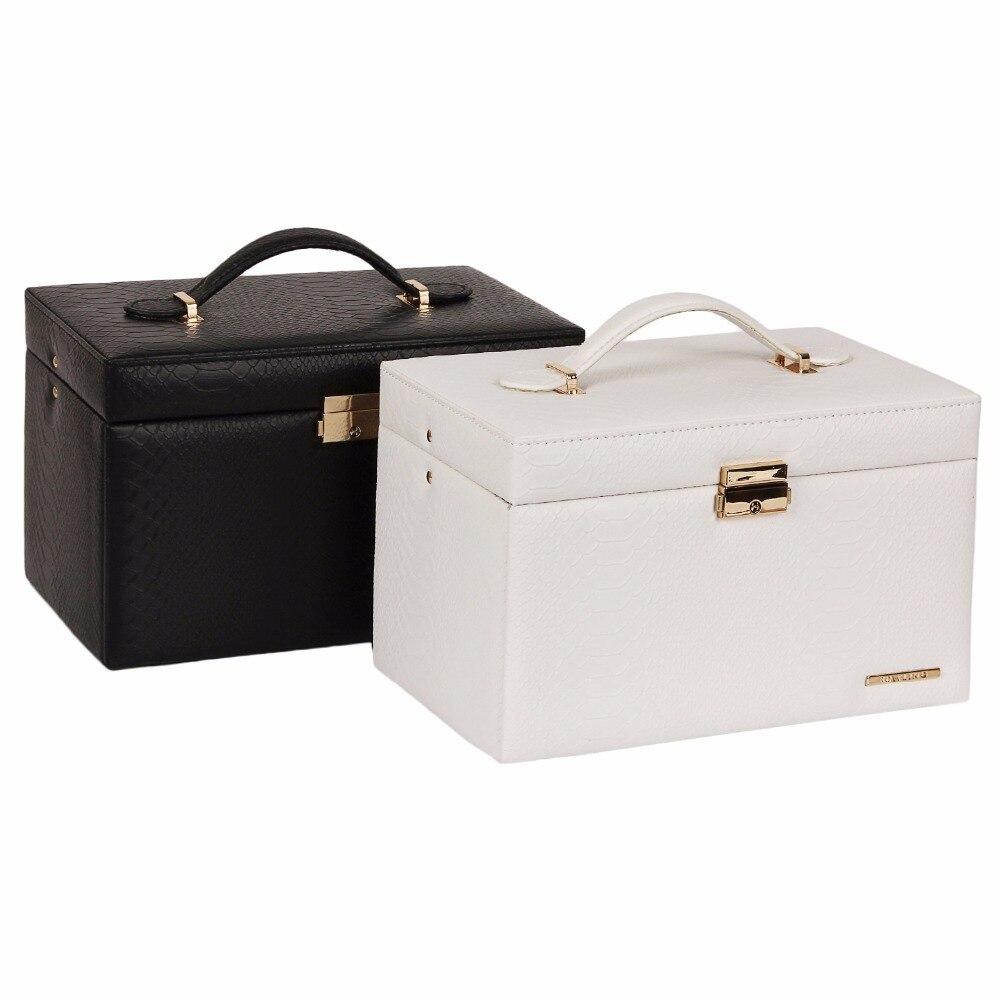 Rowling white large jewellery storage box