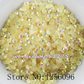 5000 pçs/saco, SS16, 4mm, Nail Art, Champanhe, Geléia AB resina cristal flatback strass, caso de telefone, use cola, unhas De Cristal, Decoração