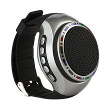 Vapeonly Portable Smart Watch Bluetooth Speaker Wearable Music Player w/ FM Hands-free Music Speaker for Fitness Running Travel