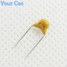 50 шт. монолитную Керамика чип конденсатор mlcc многослойная Керамика конденсатор 0.47 мкФ 470nf 474 50 В +/ -20%