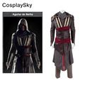 Assassins Creed Aguilar Cosplay Costume Callum Lynch Battle Suit Custom Made high quality