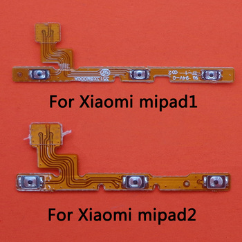 1pcs For Xiaomi Pad MiPad 1 2 Power Volume Button Flex Cable Power On Off Volume Up Down Connector Replacement Parts image