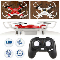Afstandsbediening Quadcopter 2.4G 4 Kanaal 4 Axis Nano RC Quadcopter Kleine Quad Mini Drone UFO R/C rood/Wit