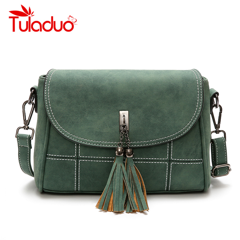 Nubuck Tassel Women Messenger Bags Women Designer Women Handbags High Quality Bags Female Shoulder Bag Woman CrossBody Bag Small