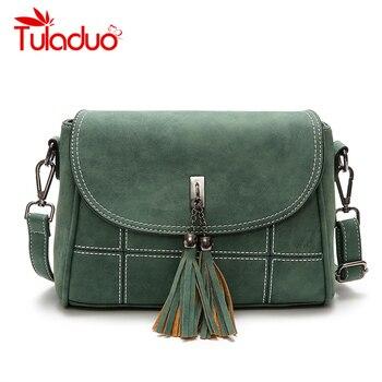 Nubuck Tassel Women Messenger Bags Women Designer Women Handbags High Quality Bags Female Shoulder Bag Woman CrossBody Bag Small shoulder bag