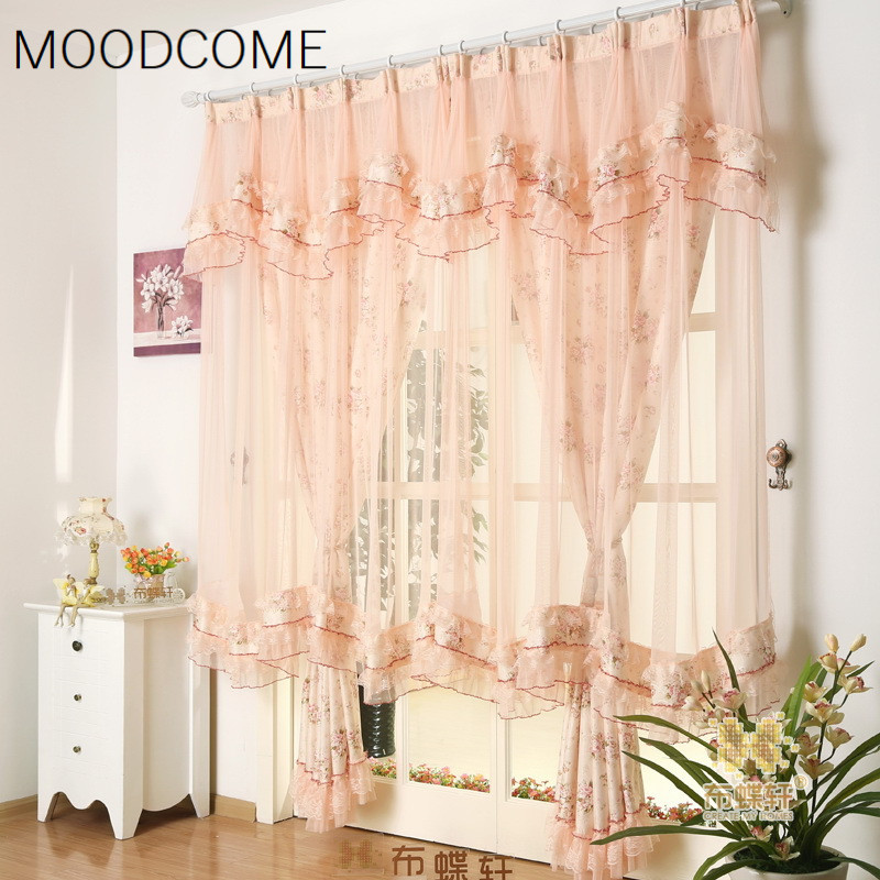 Super fairy lace jacquard curtains for living dining room - Curtains for living room and dining room ...