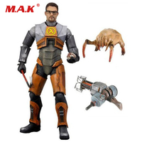 18cm NECA Half Life 2 Gordon Freeman Gravity Action Figure Model Toys Collections