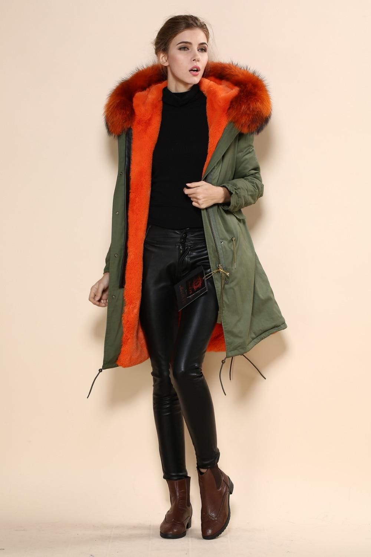 Italy Name Brand Long Designer Fashion Mr Mrs Jackets Real Fur ...