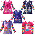Elsa Dress for 18M~6Y Girls Clothes Embroidery Casual Dress Girl Dress Nova Kids Clothes Long Sleeve Princess Dresses for Girls