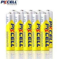 10 piezas PKCELL 1 2 v NIMH batería AAA 3A batería recargable de 1000MAH aaa Ni MH baterías AAA batería recargable de la batería para linterna|battery rechargeable|battery a|aaa battery -