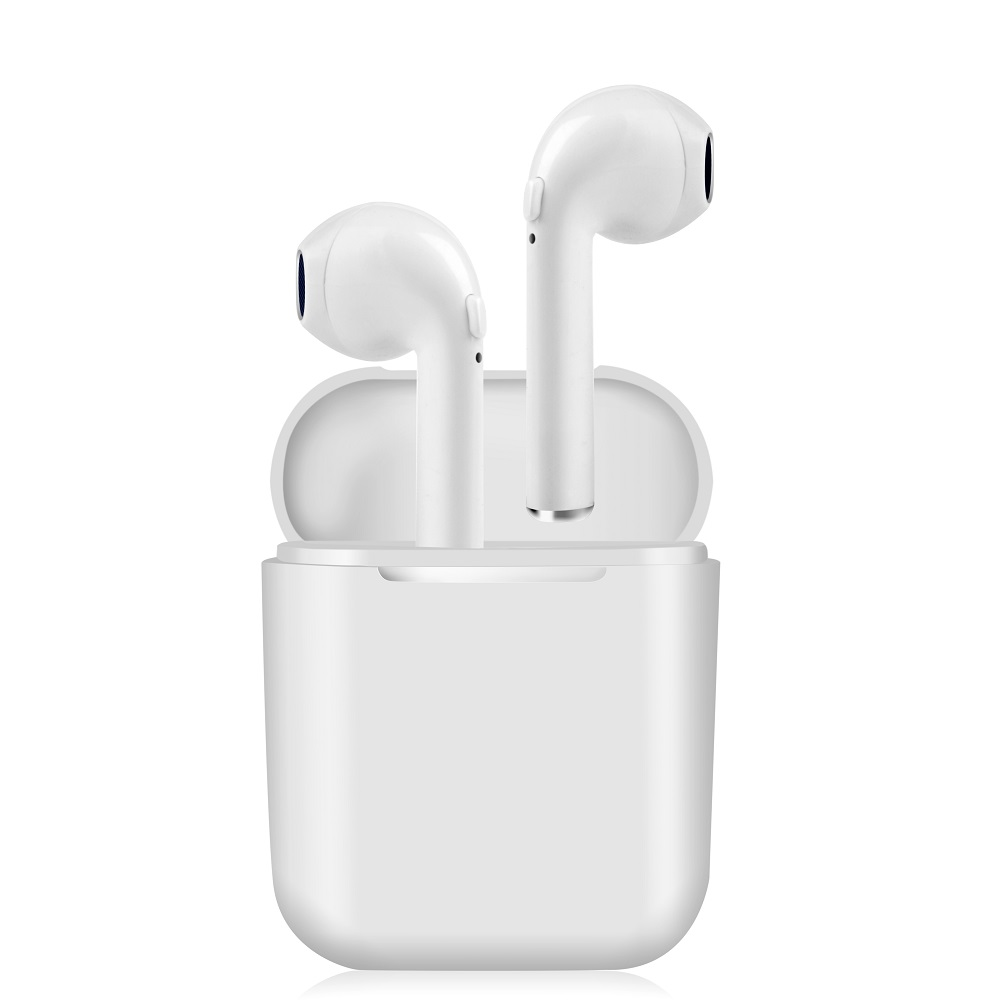 Nuevo i8 estéreo Mini TWS auricular Bluetooth inalámbrico auriculares música auriculares estéreo de deporte auriculares aire Vainas para iPhone Android Samsung