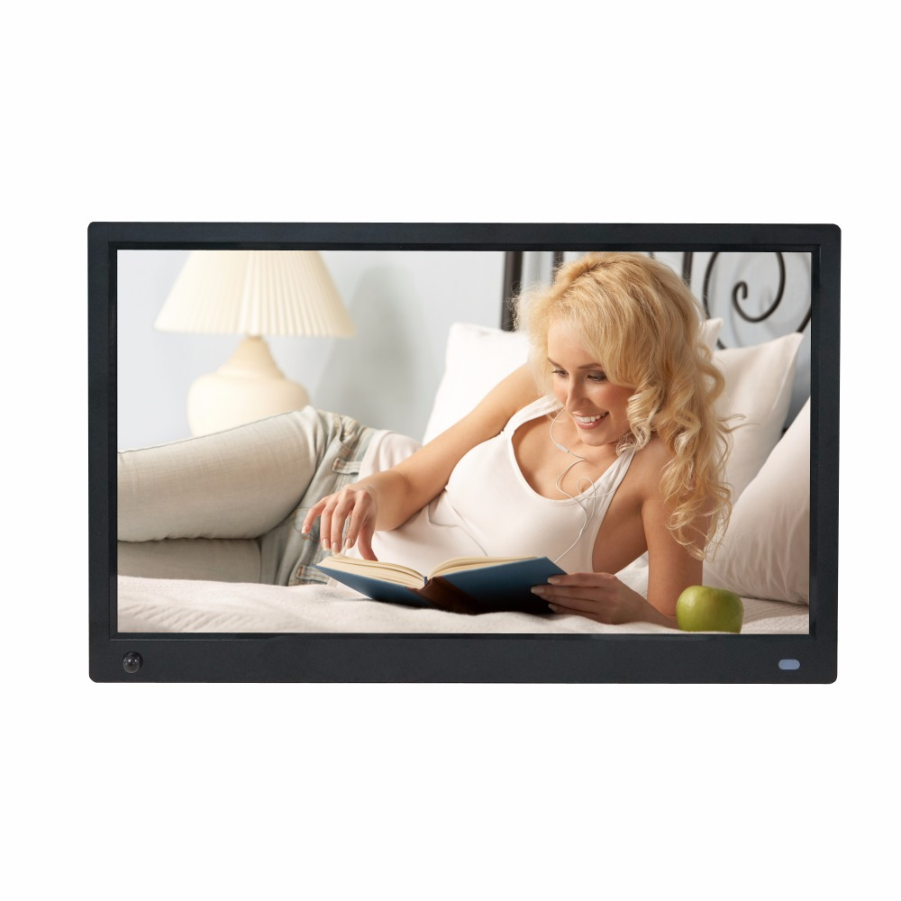 15 6 inch IPS Motion body sensor Full viewing angle 1920X1080 HD input picture video player digital photo frame digital album in Digital Photo Frames from Consumer Electronics