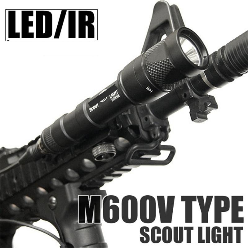 Arme tático M600V IR Olheiro LEVOU Luz
