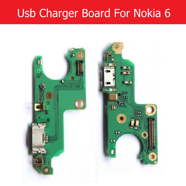100% Genuine Microphone & Charging USB Jack Board For