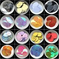 Sequin 20mm 25mm 30mm pvc Flat Round loose Sequins PailletteS Sewing Wedding Crafts, Women DIY Accessory, Lentejuelas Para Coser