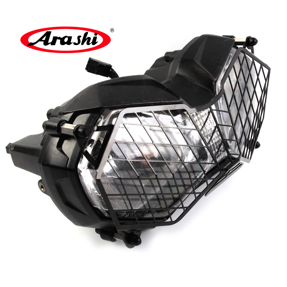 Arashi New Front Headlight Grille For TRIUMPH Tiger 800 2010-2017 XCA XCX XR XRX ABS XC Explorer 1200 1200XC Protector Cover for triumph tiger 800 xc xrx tiger 1050 1200 new motorcycle adjustable handlebar riser bar clamp extend adapter