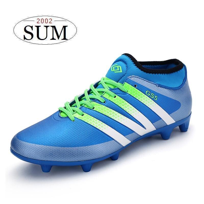 d241df6cdbf49 Adolescentes zapatillas botines zapatos de futbol hombres Superfly botas de  fútbol AG Soccer cleats GS5 botines botas futbol