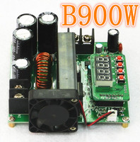B900W High Precise LED NC DC Constant Current Power Supply Voltage Adjustable Boost Module Ammeter 120V15A