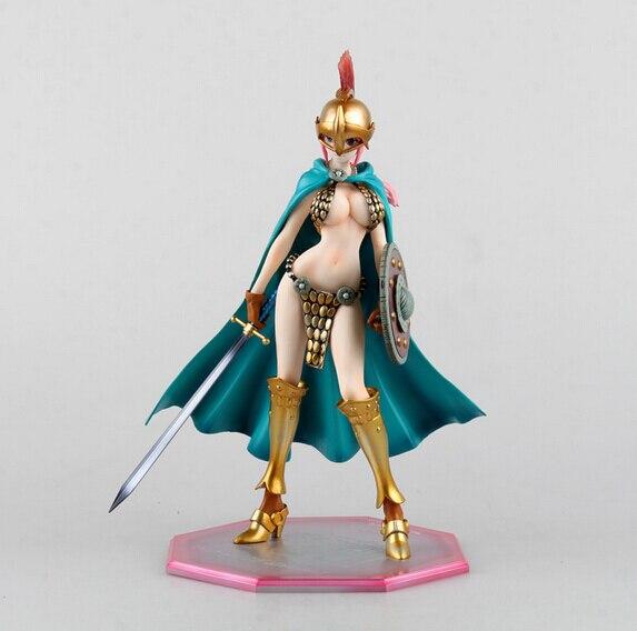 ФОТО Manufacturer 18pcs Japana anime One piece POP Rebecca on sword action pvc figure toys tall 22cm in box via EMS.