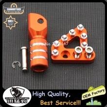 Оранжевая задняя педаль тормоза, ступенчатая пластина, рычаг переключения передач для KTM duke125 200 390 990 950 ADVENTURE 690 DUKE SMC 690 ENDURO EXC