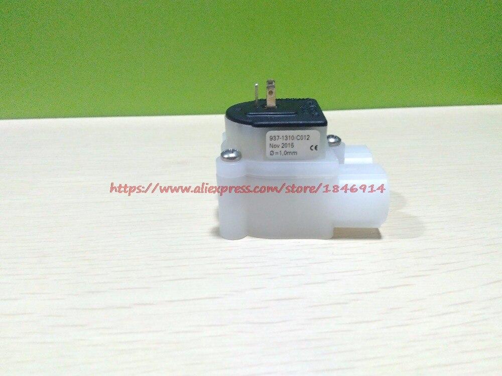 Importer FHK Mini 937 PVDF anti-corrosion débitmètre fluide capteur de débit 2 dans la connexion de filetage interne