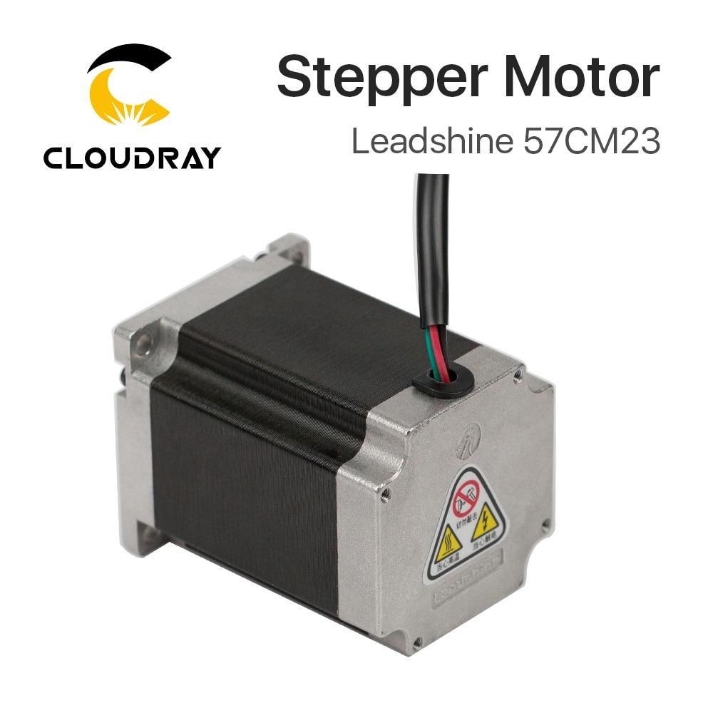 Leadshine 2 phase Stepper Motor 57CM23 for NEMA23 5A Length 76mm Shaft 8mm