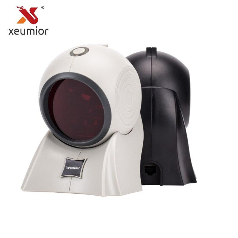 USB Laser Scanner di Codici A Barre Automatico Sensore di RS232 Codice a barre Scanner Reader per POS Sistema di Pagamento di Codici A Barre terminales