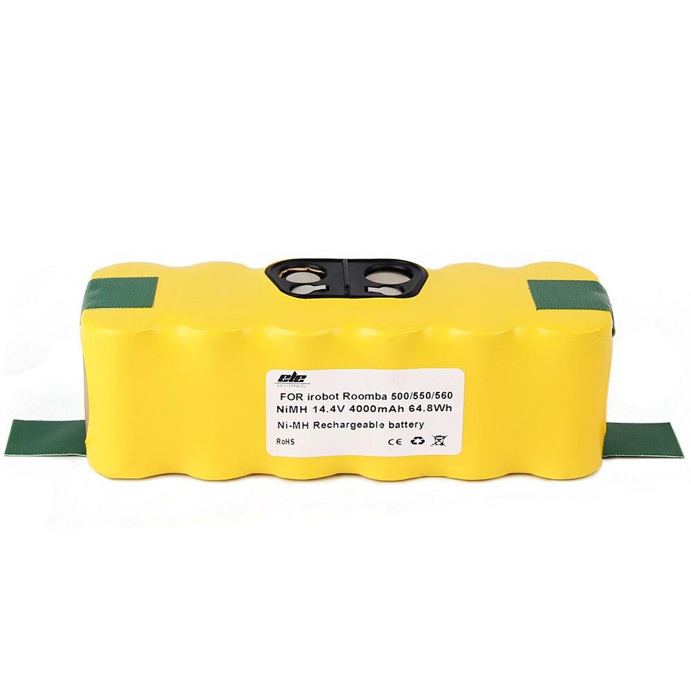 10x Nouveau 4000 mah NI-MH Vide Batterie pour iRobot Roomba 500 560 530 510 562 550 570 581 610 650 790 780 532 760 770 + Main Spinner