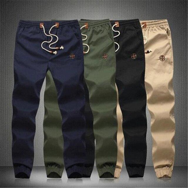 2016 новое движение Бодибилдинг Хип-хоп досуг Большой размер одежды yeezy boost homme pantalon брюки мужские бегунов