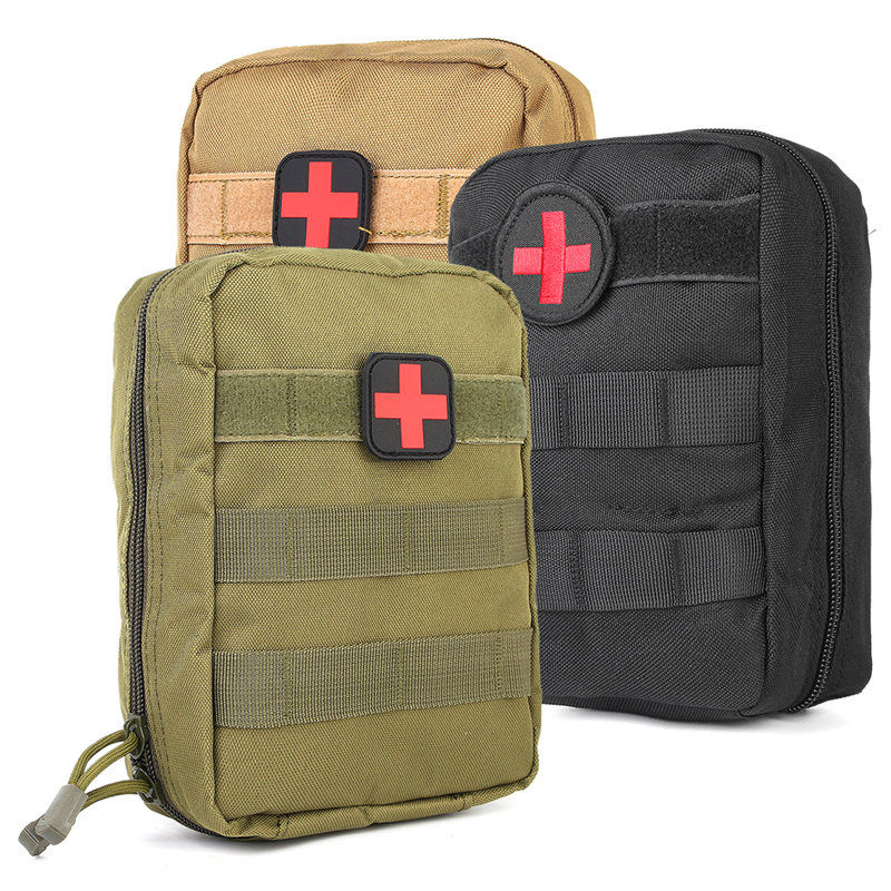 Hot Sale Tactical Medical First Aid Kit Bag Molle Medical Utility Pouch Military Package For Hunting Camping Hiking Outdoor Bags
