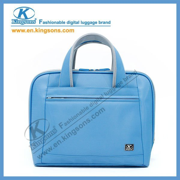 "Patented Product Air Cell Shock-proof Lady Nylon 14.1""Computer/Notebook/Laptop Handbag"