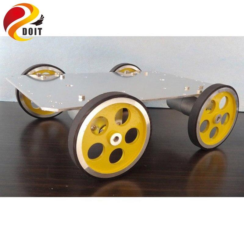 Voiture originale 3540 moteur 95 aluminium métal roue aluminium voiture châssis Robot portant 100 KG bricolage RC jouet télécommande Atmega