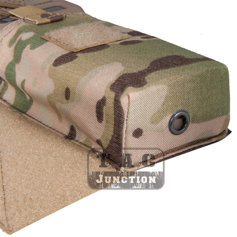 Image 4 - Emerson Tactical MBITR Radio Pouch and  M4 Magazine Pouch Combo with Hook & Loop Multicam-in Pouches from Sports & Entertainment