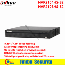 Dahua NVR NVR2104HS-S2 / NVR2108HS-S2 4/8 Channel Compact 1U Lite Network Video recorder up to 6Mp Recording Onvif Network