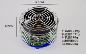 Free shipping Antminer U3 63Gh/s USB Bitcoin Miner With Power Supply SHA256 Miner BTC Mining Machine