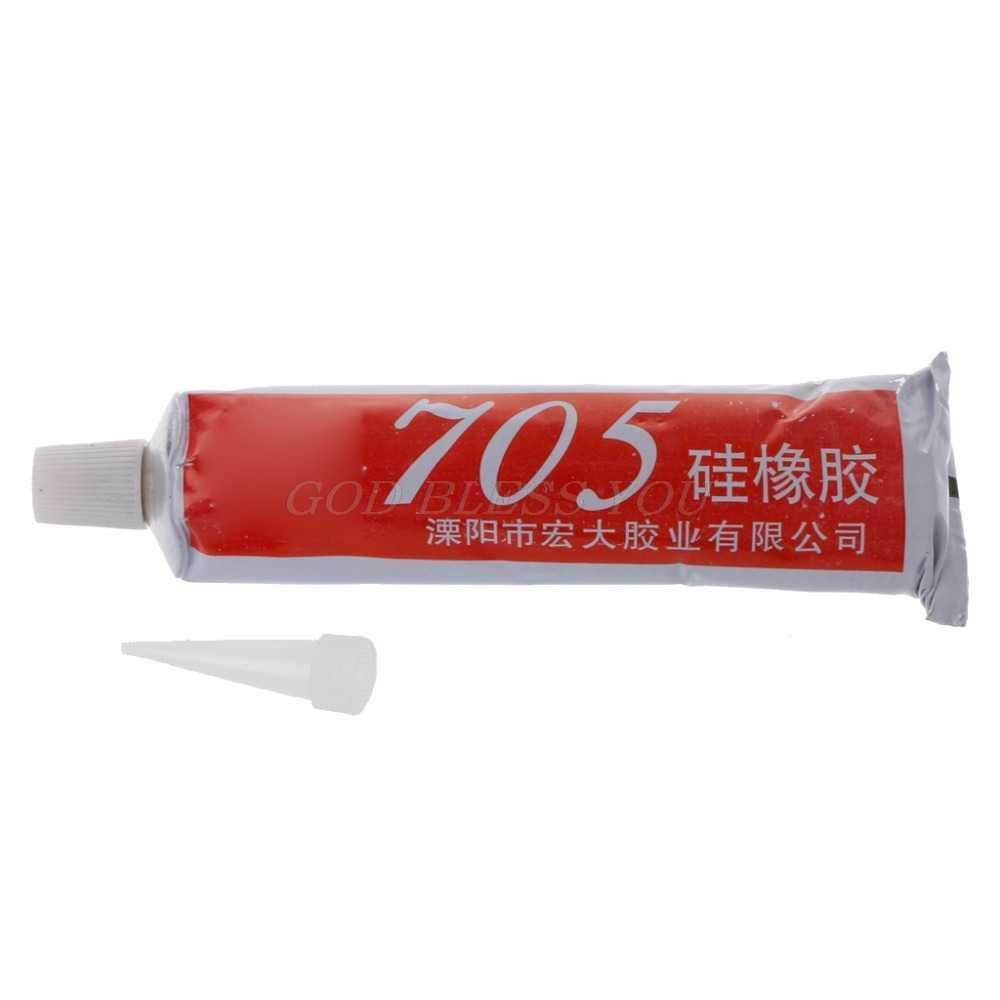 705 Siliconen Clear Afdichting Lijm Waterdicht Warmte Weerstaan Voor Elektron Component 50 g Hot Oplosmiddelen