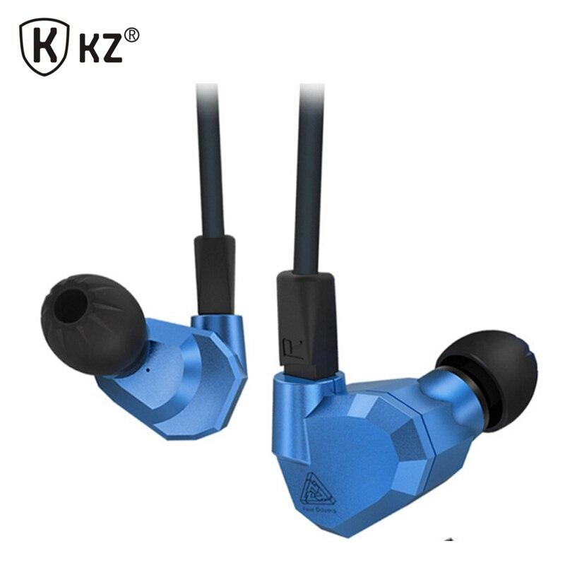Original kz zs5 2dd + 2ba híbrido en la oreja los auriculares de dj de alta fide
