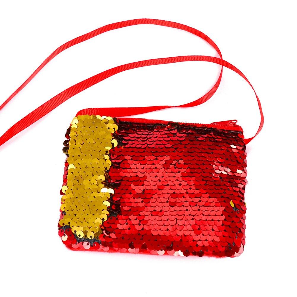 Herrenbekleidung & Zubehör Aggressiv Nette Crossbody Pailletten Handtasche Mini Kupplung Tasche Meerjungfrau Kinder Zipper ZuverläSsige Leistung