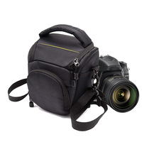 Caso SLR Cámara Bolsa de Hombro Bolso Acolchado de Vídeo Fotografía Al Aire Libre para Nikon D750 D5500 D7200 D7100 D5300 D3300 B700 Hombro bolsa