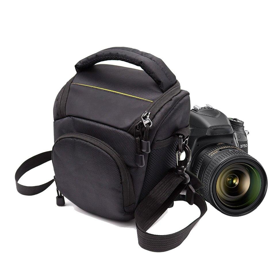 SLR Camera Shoulder Bag Outdoor Photography Bag Padded Video Case For Nikon D750 D3300 D5300 D5500